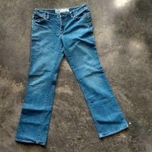 LOFT Curvy Boot Medium Wash Jeans 10